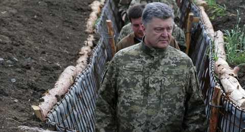 Tổng thống Ukraine Poroshenko ở Donetsk