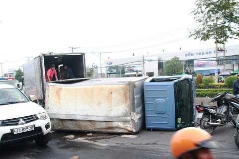 Hiện trường vụ tại nạn giao thông