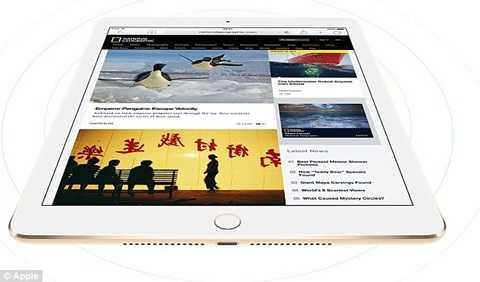 Phiên bản iPad 'khổng lồ' sắp ra mắt hứa hẹn sẽ là món đồ công nghệ đột phá của năm 2015