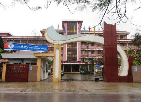 THPT chuyên Lam Sơn (Thanh Hóa) nơi có 4 học sinh không có trong danh sách trúng tuyển vẫn học tại trường
