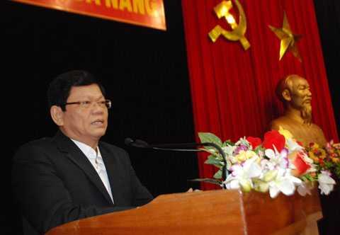 Ông Võ Công Trí, Phó Bí thư Thường trực Thành ủy Đà Nẵng.