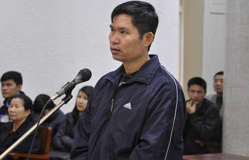 Bị cáo Nguyễn Mạnh Tường trong phiên tòa sơ thẩm tháng 10/2014 (Ảnh: Minh Chiến)