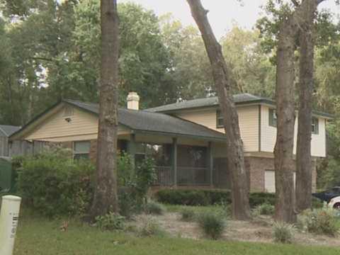 Hình ảnh nhà của đối tượng Goldberg tại bang Florida, Mỹ