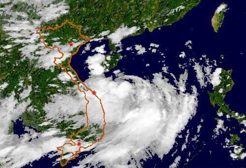 Vùng áp thấp này có khả năng phát triển thành áp thấp nhiệt đới và còn có diễn biến phức tạp -Ảnh minh họa