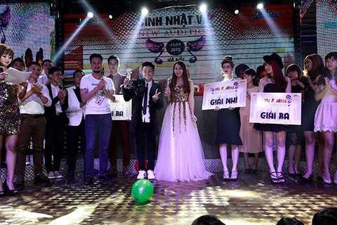 Cặp đôi đoạt ngôi vị quán quân Miss & Mr. New Audition