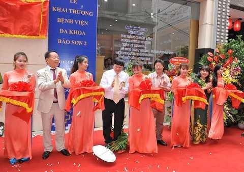 Ra mắt bệnh viện đa khoa Bảo Sơn 2.