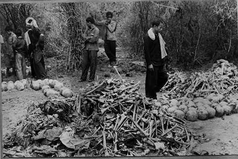 Những bức ảnh tố cáo tội ác Khmer Đỏ. Ảnh tư liệu