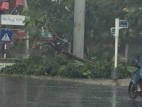 Cơn bão số 3 gây mưa lớn tại các tỉnh miền Trung
