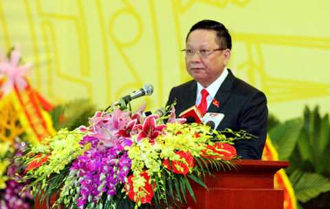 Đồng chí Bùi Văn Tỉnh, Ủy viên Trung ương Đảng, Bí thư Tỉnh ủy, Chủ tịch HĐND tỉnh Hòa Bình