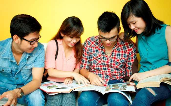 Học tiếng Anh để tự tin với khả năng giao tiếp.