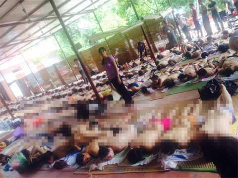 Bệnh nhân nằm la liệt cho cô Phú Thái Nguyên 'chữa bệnh'