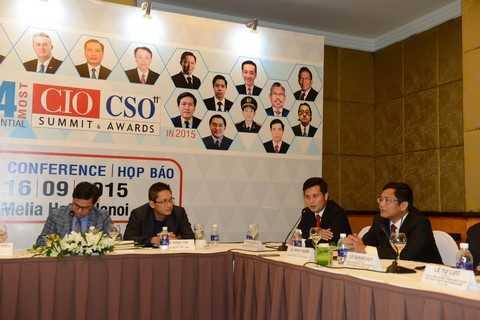 Ông Trần Công Quỳnh Lân chia sẻ tại Họp báo công bố giải thưởng