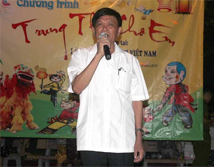 Ông Đinh Văn Tuyên (Giám đốc Làng trẻ Hữu nghị Việt Nam) chia sẻ