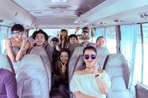 Top 9 tiếp tục cuộc hành trình tại Nha Trang.