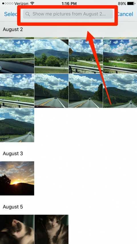 Siri cũng đã có khả năng tìm kiếm hình ảnh trong Photos sắp xếp theo thời gian và lọc ra chính xác ngày mà bạn cần