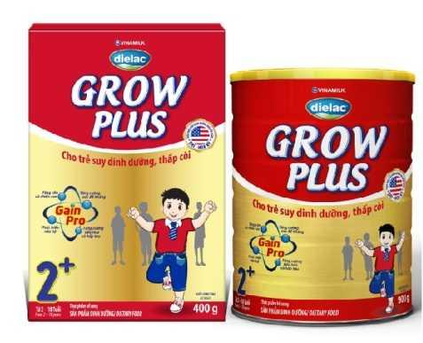 Sữa Grow Plus của Vinamilk giúp cải thiện tình trạng suy dinh dưỡng của trẻ