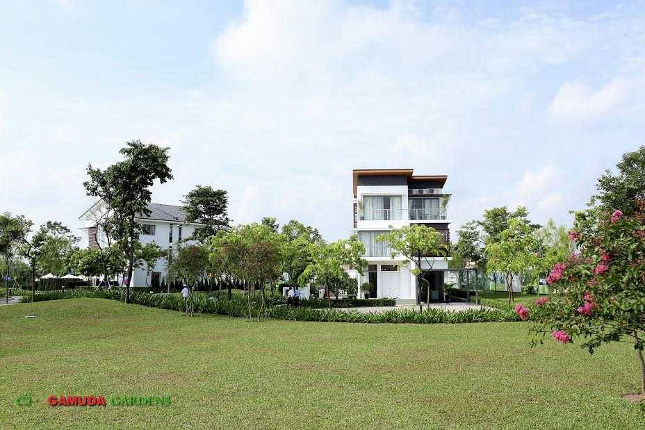 Biệt thự Mansions mang đến một thiết kế ưu việt của không gian xanh miệt vườn
