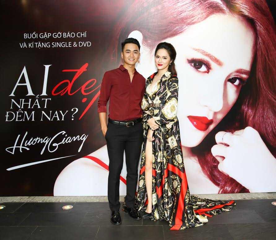 Hương Giang và Thanh Tùng Idol