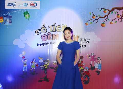 Hoa hậu Kỳ Duyên xuất hiện trong chương trình