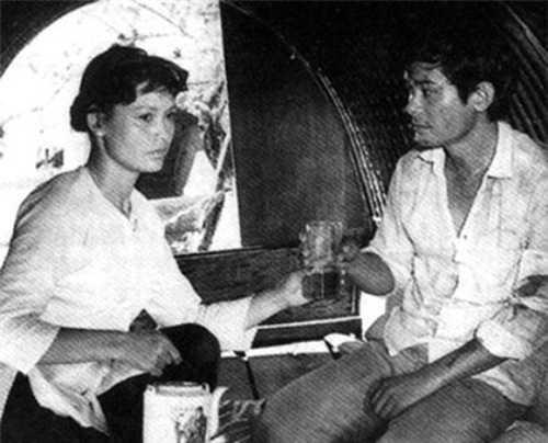 NSƯT Minh Châu trong bộ phim Cô gái trên sông.