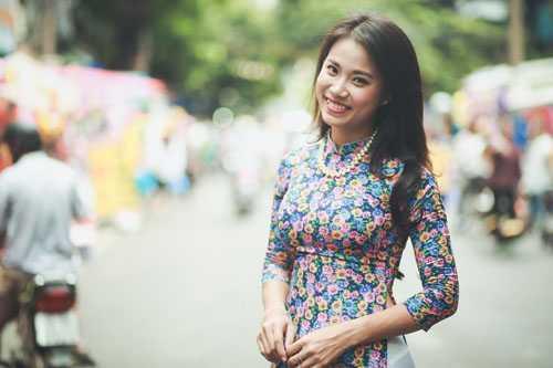 Diễn viên Khuất Quỳnh Hoa.