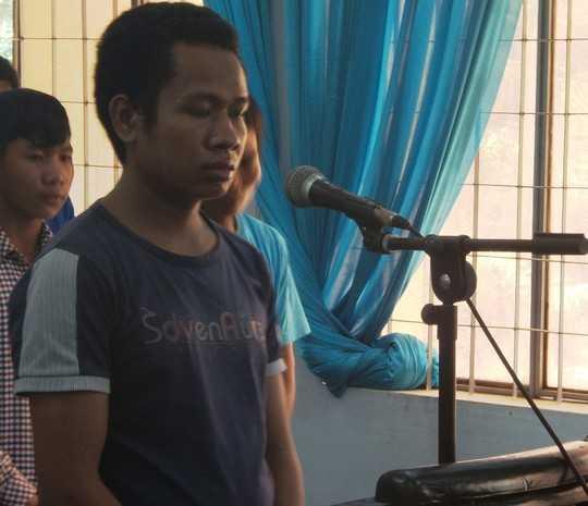 Bị cáo Y Quốc Niê tại phiên tòa sơ thẩm
