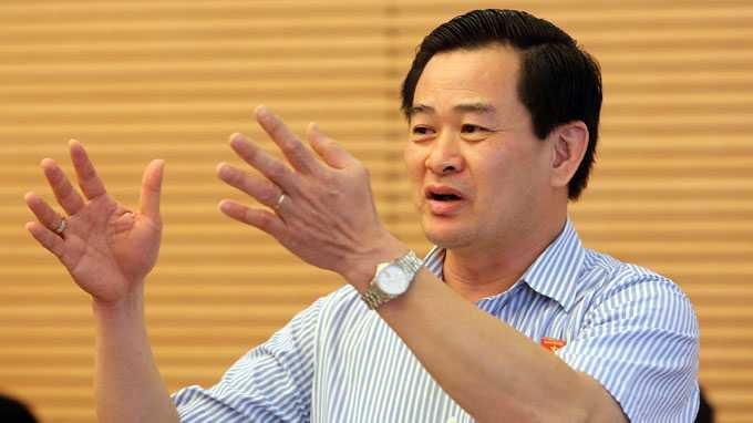 Phó Chủ nhiệm Ủy ban Tư pháp của Quốc hội Nguyễn Đình Quyền