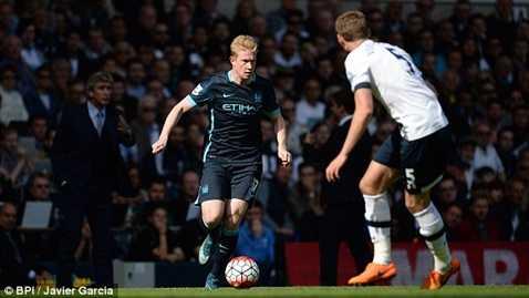 Kevin de Bruyne thực sự đáng giá 54 triệu bảng khi đã có 3 bàn trong 3 trận liên tiếp cho Man City