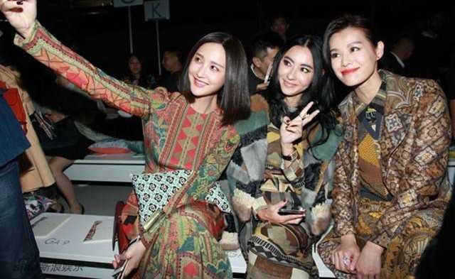 Ba người đẹp tỏa sáng tại Milan.