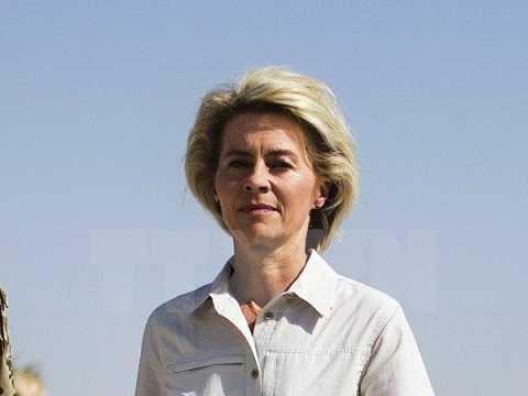 Bộ trưởng Quốc phòng Đức Ursula von der Leyen
