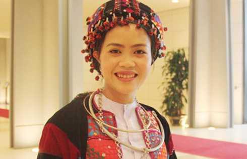 Cô giáo Lò Thị Dinh (Ảnh: Hiếu Nguyễn)