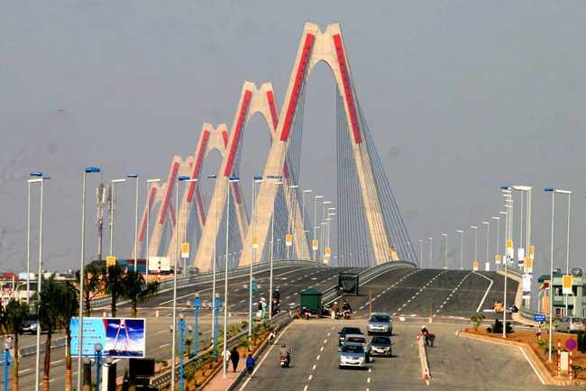 Tuyến đường nối cầu Nhật Tân tới đường Thanh Niên dự kiến dài khoảng 5,53 km, mặt đường rộng 60m.