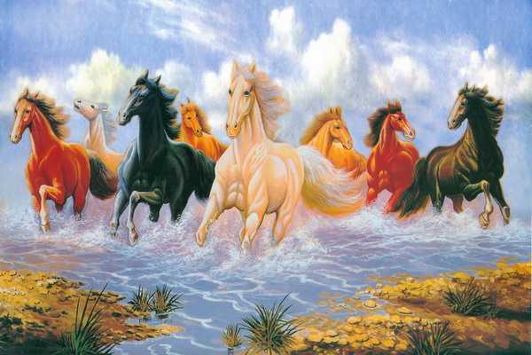 Trong treo tranh phong thuỷ, cần tránh những loại tranh không phù hợp