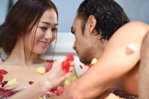 Cảnh quay nóng bỏng của Khánh My và Đức Hải trong phim