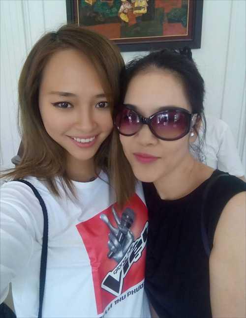 Trước đó, mối quan hệ giữa nàng rapper và nữ HLV Thu Phương vẫn rất thân thiết.