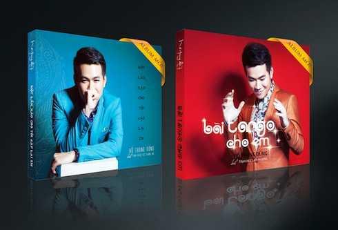 Bộ đôi album mới của Hồ Trung Dũng.