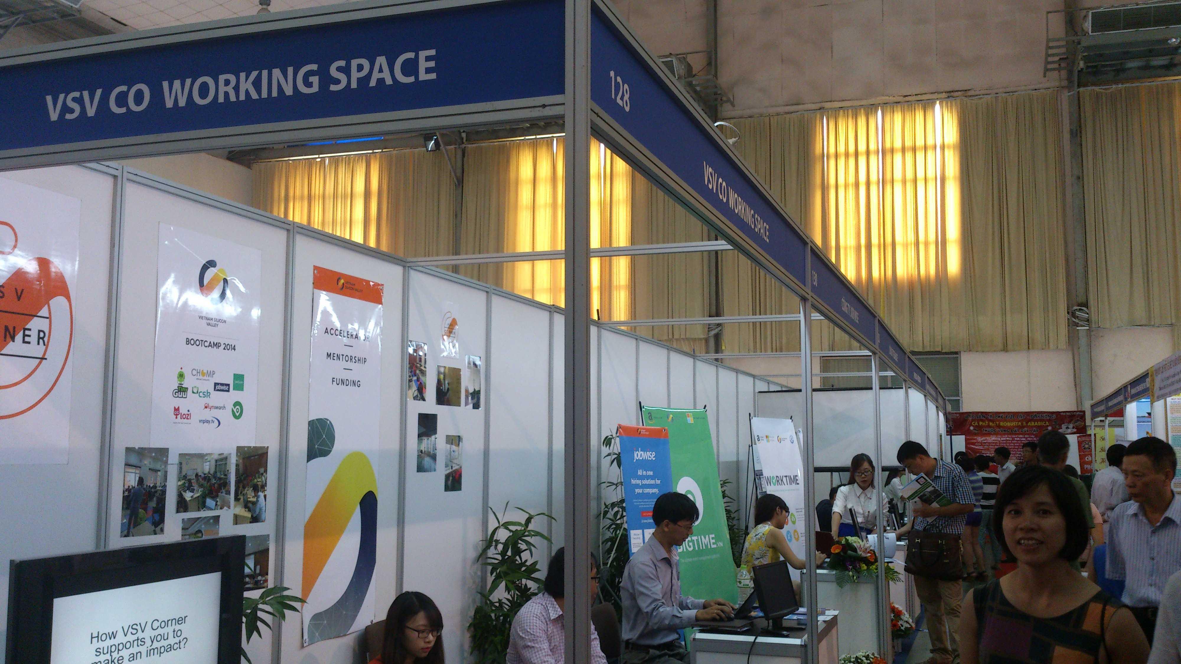 Gian hàng dự án Vietnam Silicon Valley (VSV)