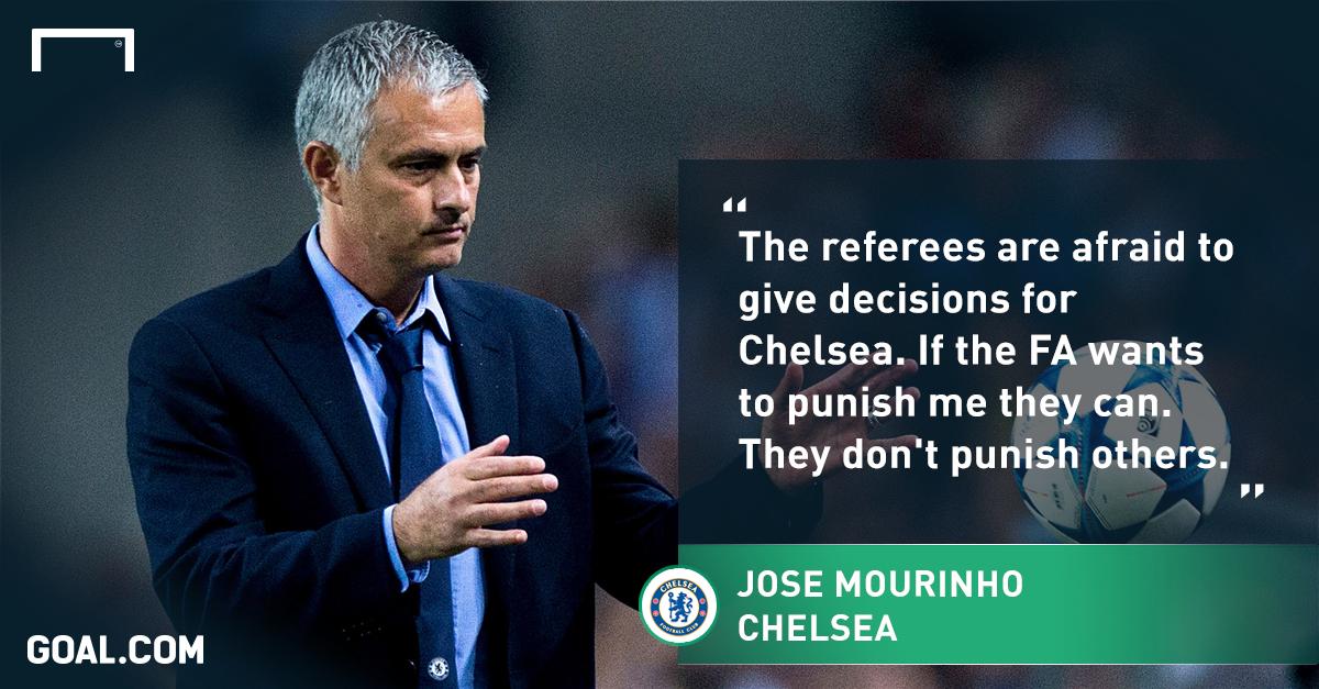 Mourinho cho rằng FA đang khắt khe với ông và Chelsea