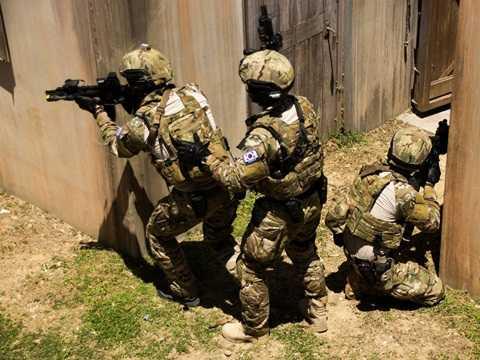 Quá trình huấn luyện của binh sĩ Hàn Quốc