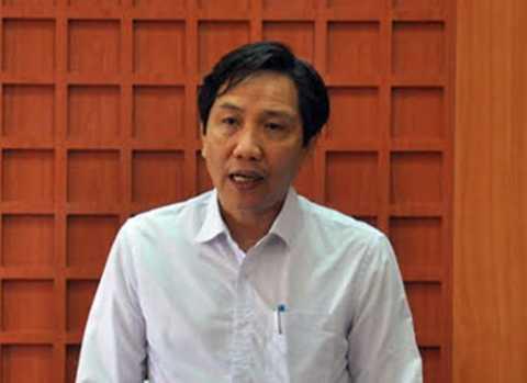 Ông Trần Anh Tuấn, Thứ trưởng Bộ Nội vụ, trưởng đoàn công tác của Bộ Nội vụ phát biểu tại buổi làm việc với tỉnh Quảng Nam