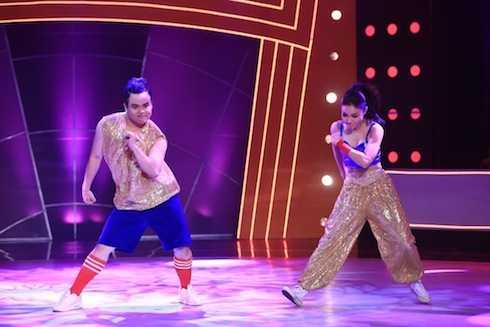 Anh Quang và Thuỳ Vân nhảy trên nền nhạc 'Hey Mama'. Đàm Vĩnh Hưng nhận xét: 'Em thấy em vô cùng tự tin và em đã nhảy như ngày mai không còn được nhảy. Chúc mừng hai em !'. Cặp đôi có tổng điểm: 12 điểm.