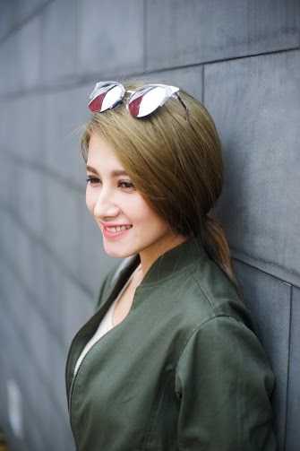 Emmy Nguyễn hiện đang làm người mẫu cho nhiều hãng thời trang tại TP.HCM