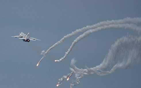 Máy bay ném bom Su-24 tác chiến