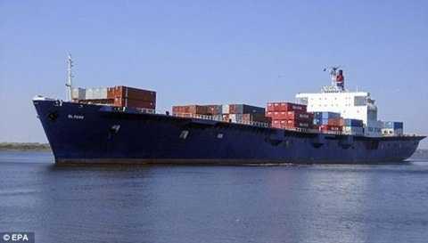 Con tàu El Faro đang bị mất tích