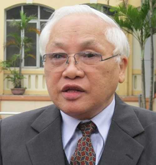 Ông Phạm Sỹ Liêm, nguyên Thứ trưởng Bộ Xây dựng.