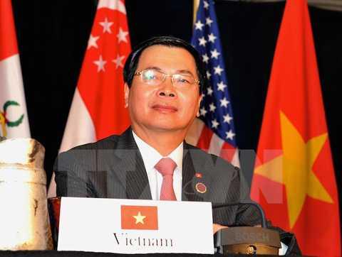 Bộ trưởng Công Thương Vũ Huy Hoàng tại Atlanta.