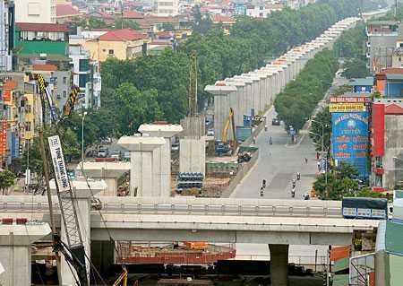 Chính phủ yêu cầu đẩy nhanh tiến độ các dự án đường sắt đô thị