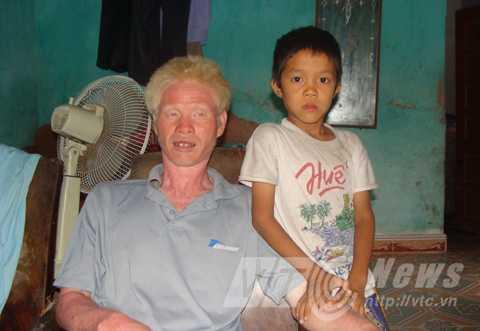 Anh Trần Văn Tộ, con trai ông Thuận với người vợ cả
