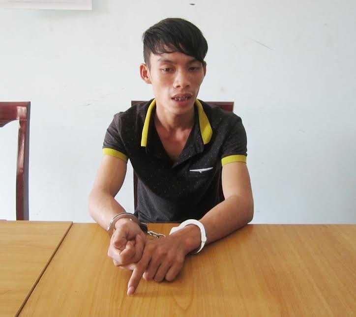Đối tượng Nguyễn Văn Bắc tại cơ quan điều tra.