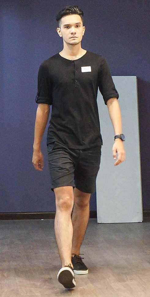 Hot boy mang hai dòng máu Việt – Nga, Nikko Đinh cũng rất chú ý tới buổi tuyển chọn này